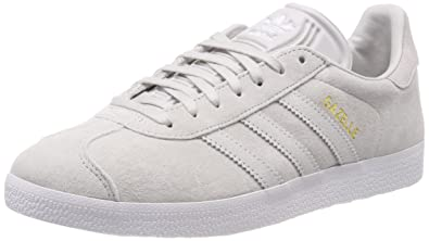 adidas Women's Gazelle W Basketball Shoes, Grey, One Size