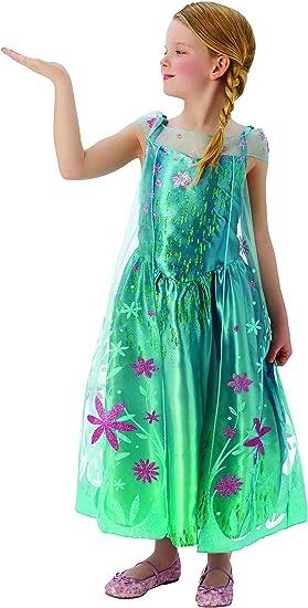 Frozen - Disfraz de princesa Anna para niña, infantil talla 3-4 ...