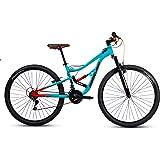 Mercurio Bicicleta Mercurio Ds Kaizer 29´´, Esmeralda/Negro/Naranja, Acero, 21 Velocidades, 2019, Unitalla