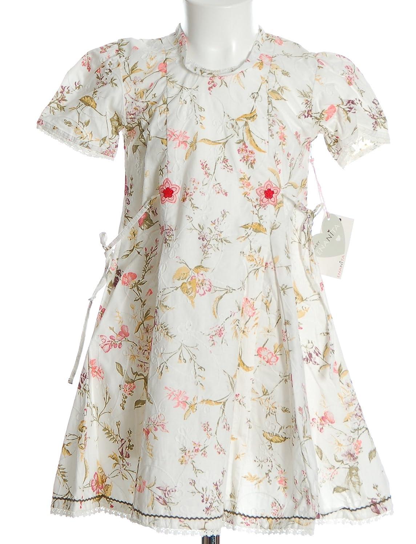 Enanita Kleid Blumen Weiß 80 jetzt kaufen