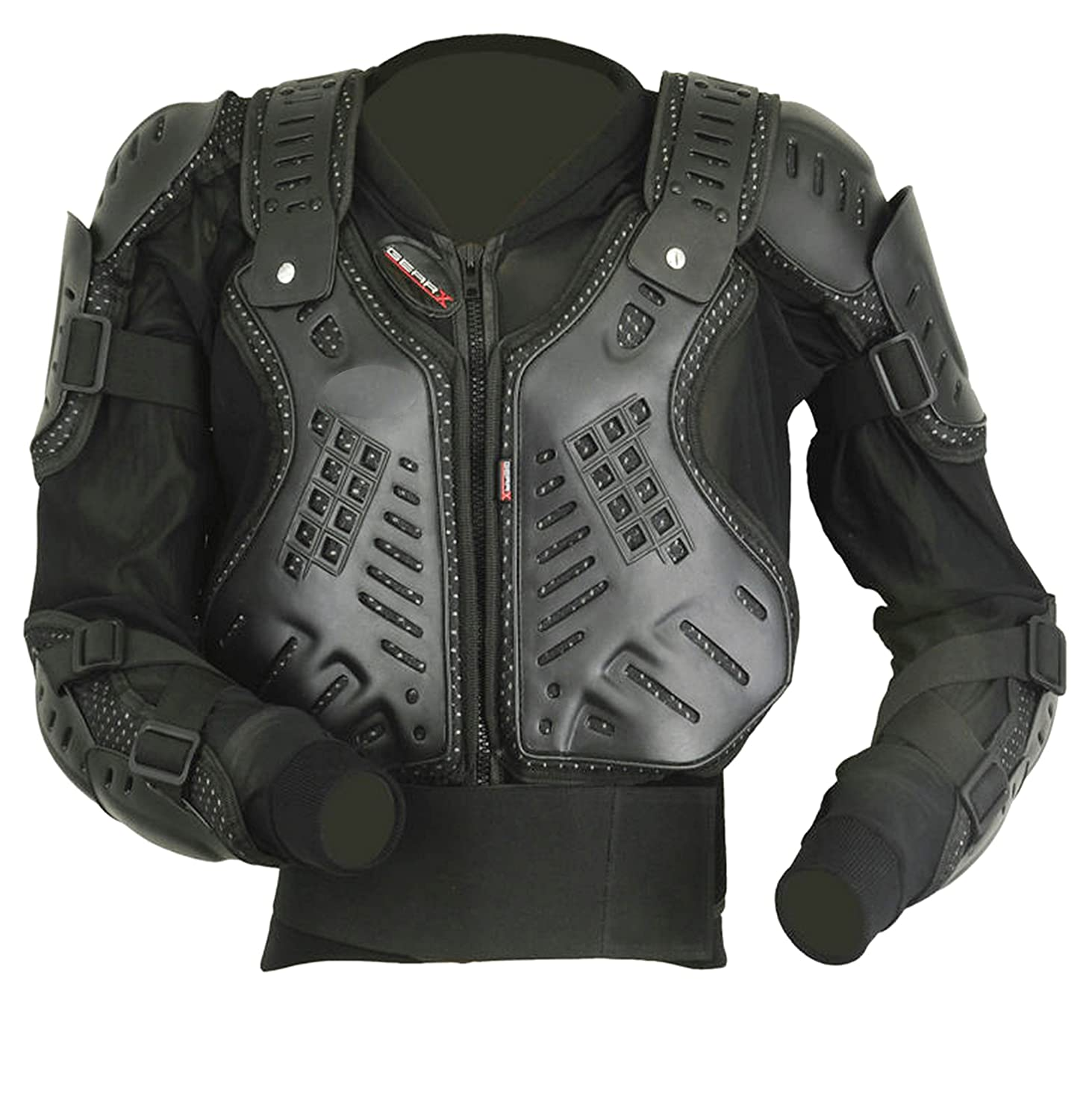 GearX Enfants Motocross Armour Dos Protection Veste CE, L