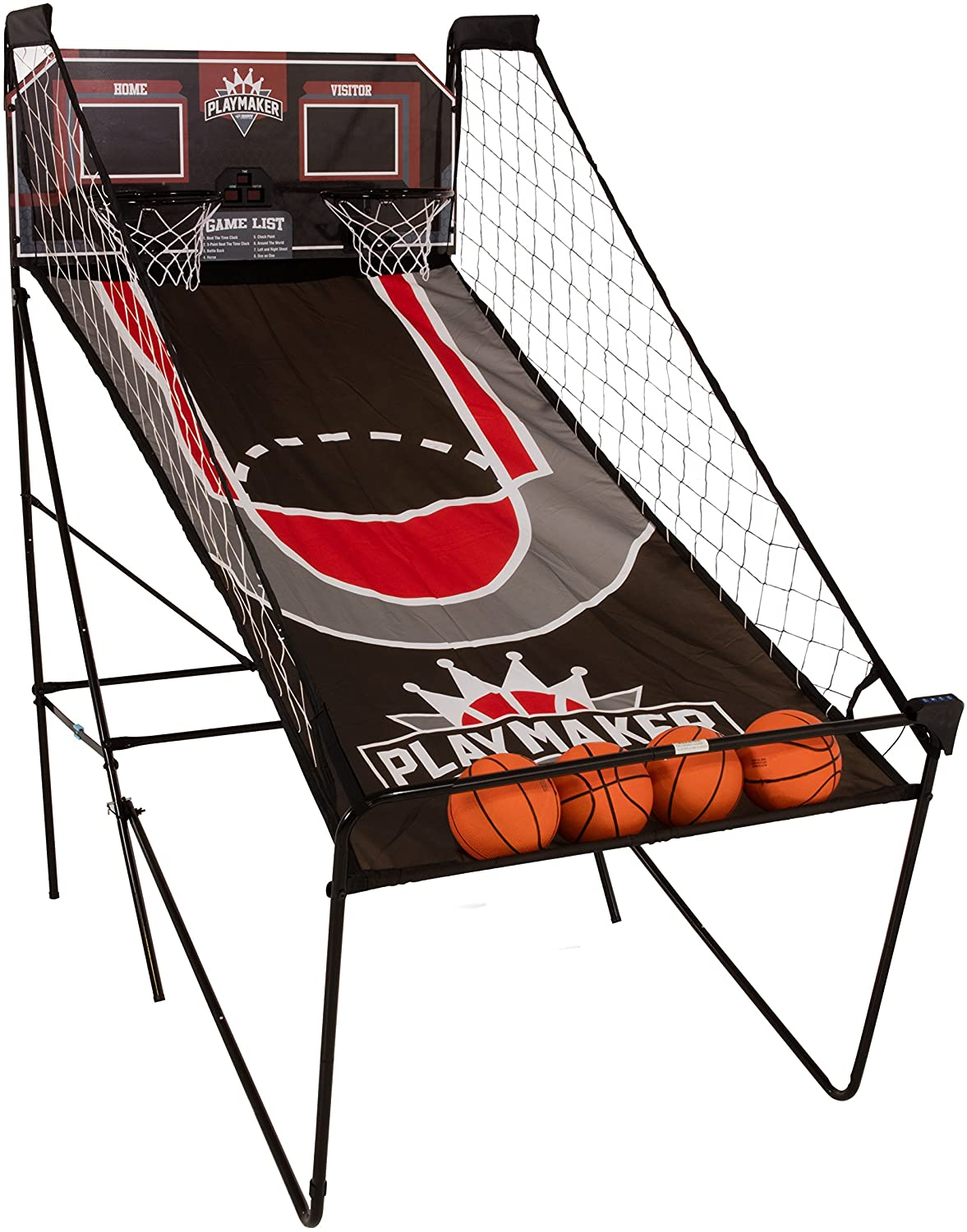 Triumph Play Maker Double Shootout Basketball Game Includes 4 Game-Ready Basketballs and Air Pump and Needle 81Ei8R2SiRLSL1500_
