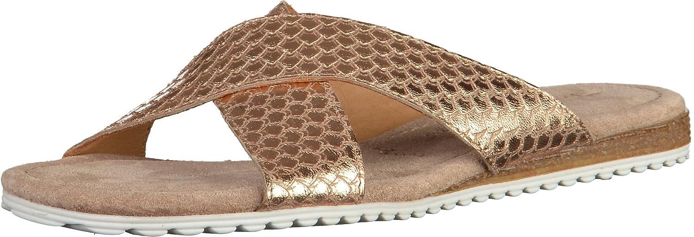 Tamaris Schuhe 1 1 27110 28 Bequeme Damen Pantolette, Sandale, Sommerschuhe für modebewusste Frau, Trend