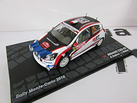 Coches Rally IXO 1:43 1/43 Renault Clio C3 Kubica/Gerber 2010