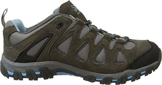 Karrimor Surge Mid Walking Boots Ladies Laces Fastened Ventilated Water