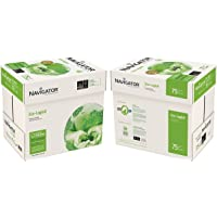 NAVIGATOR NAVA475-2 75 g/m² A4 Eco-logical Papel 10x Reams (5,000 Sheets) - 2x Box