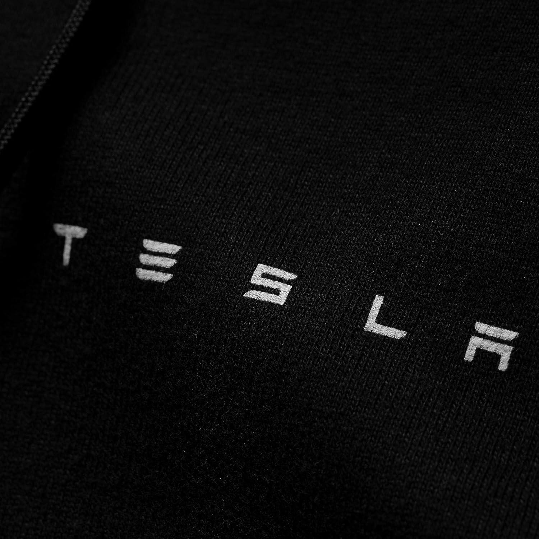 Tesla Mens Full Zip Hoodie