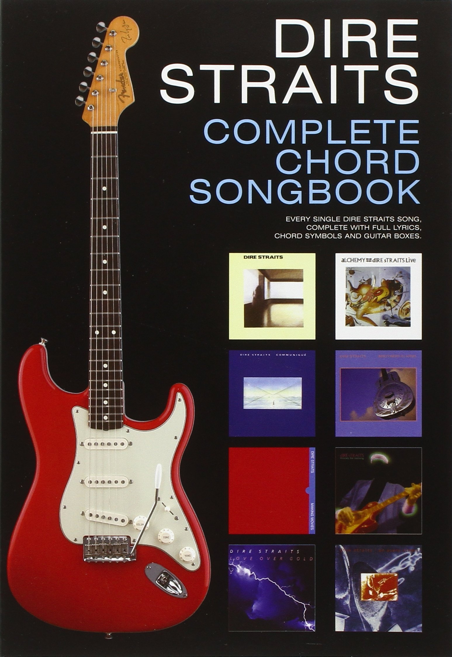 Amazon Dire Straits Complete Chord Songbook 0884088410346