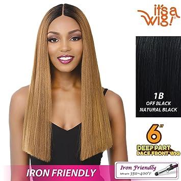 fe034578bdc Amazon.com   it s a Wig! - Ear-Ear Lace Front Cap 6