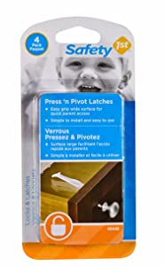 Safety 1st 4 Pack Press n' Pivot Latch