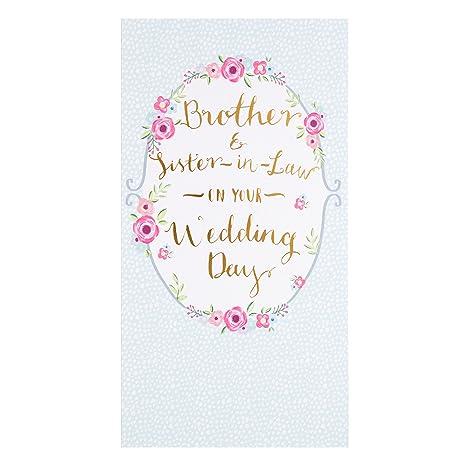 Amazon.com: Hallmark - Tarjeta de felicitación de boda para ...
