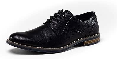 Zapatos Hombre Vestir Estilo Oxford De Piel Sintética. Marca DENVER FOOTWEAR. Disponibles En Color Marron Y Negro. Zapatos Hombre Casuales con Cordones Y Tremendamente Cómodos, Traje