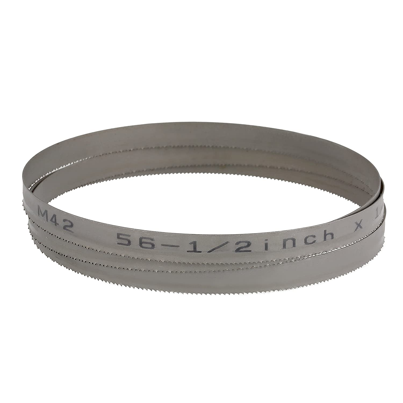 Imachinist S561214 Bi-metal Bandsaw Blades 56-1//2 X 1//2 X 14tpi for Cutting Metal 13mm 1435mm