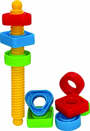 Gowi Toys Colourful Screwing Set For Babies Toddlers Children