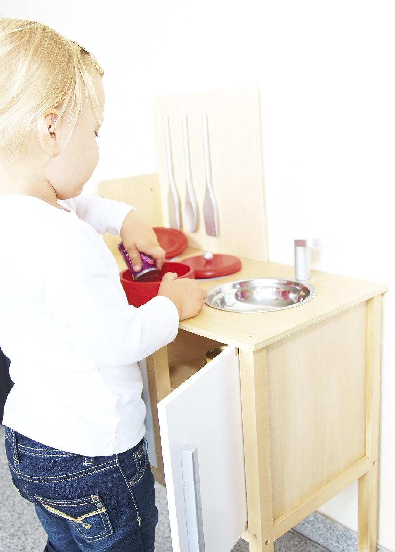Schön Pinolino   229313   Kinder Kombi Küche Jette   Mit Magnetisch Befestigten  Kochbesteck, Maße: 55 X 30 X 87 Cm: Amazon.de: Baby