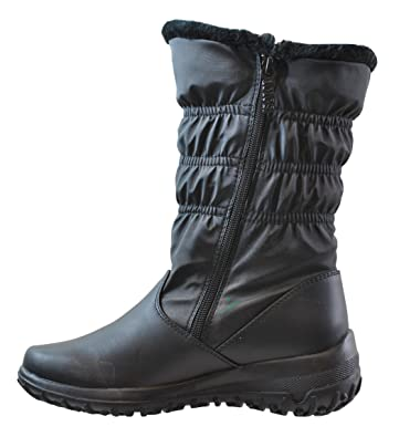 totes Womens Nicole Black Snow Boots Available in Medium and Wide Width