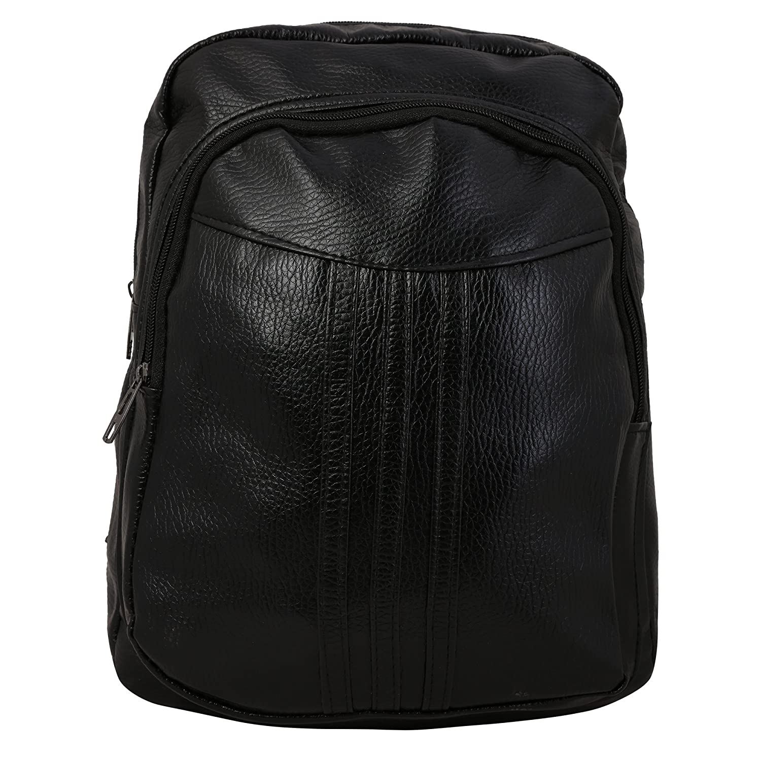 8e19c8ad4f Busta Black Color Faux Leather Backpack Bag For Women Ladies Girl   Amazon.in  Shoes   Handbags