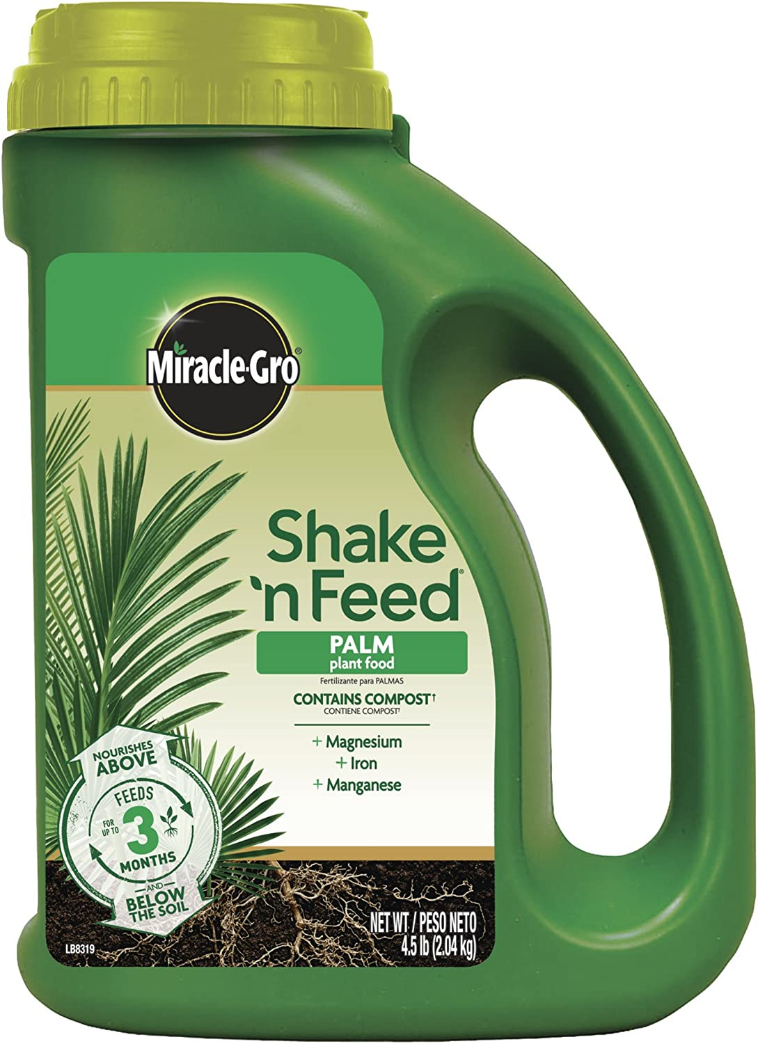 Miracle-Gro Shake 'N Feed Palm Plant Food, 4.5 lb.