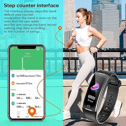 Amazon.com: KARSEEN - Reloj inteligente con monitor de ...