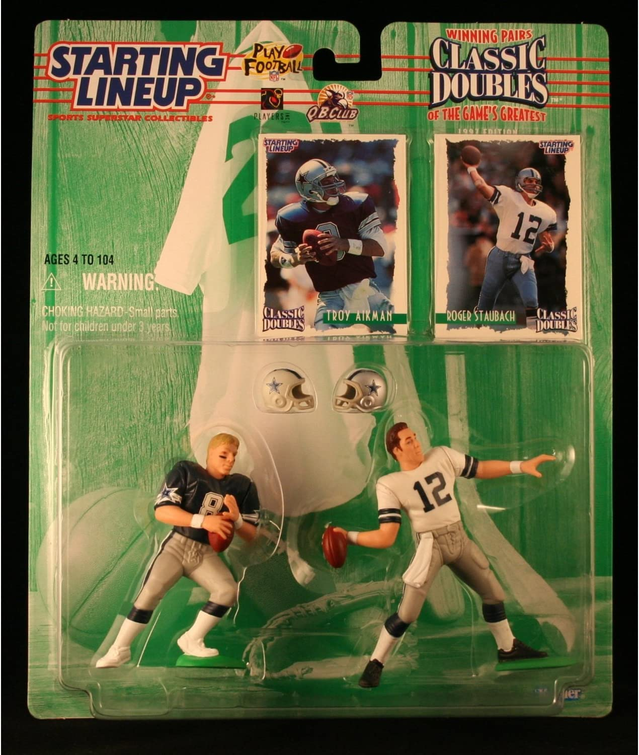 Starting Lineup Troy Aikman 1997 action figure