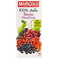 Marigold 100% Juice, Pear Mixed Berry, 1L