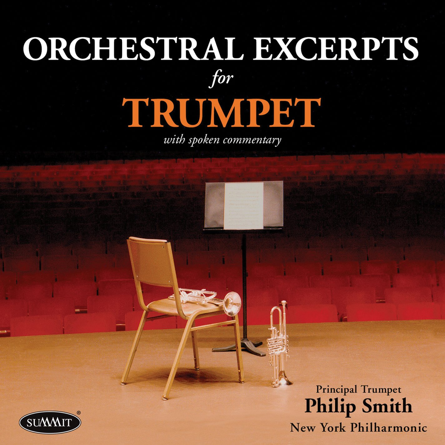 Orchestral Excerpts for Trumpet by Summit