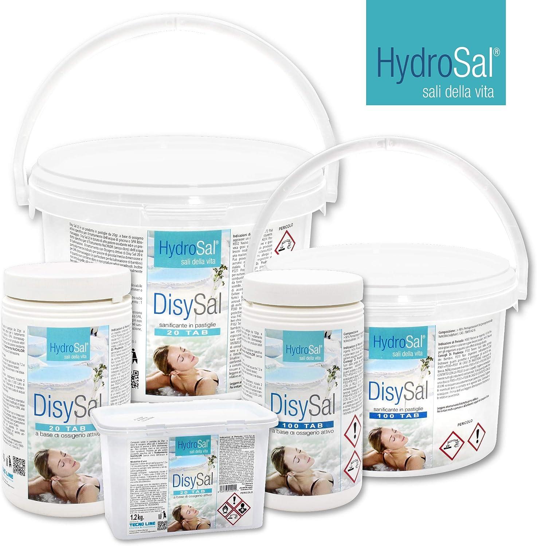 HydroSal oxígeno Activo en Pastillas de 100 g – DisySal 100 Tab 3 ...