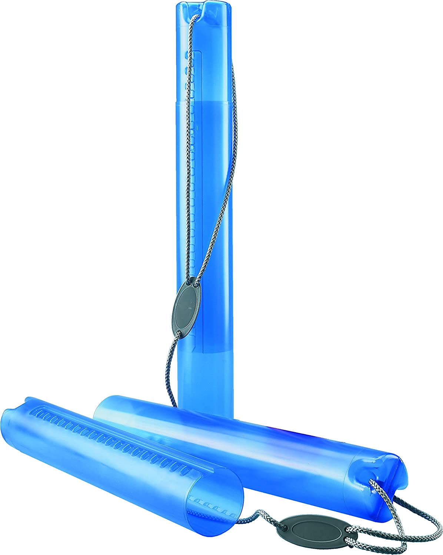 Blau, 1 K/öcher Rumold Zeichenrollen K/öcher 600-1000 mm /Ø80 mm Polyethylen
