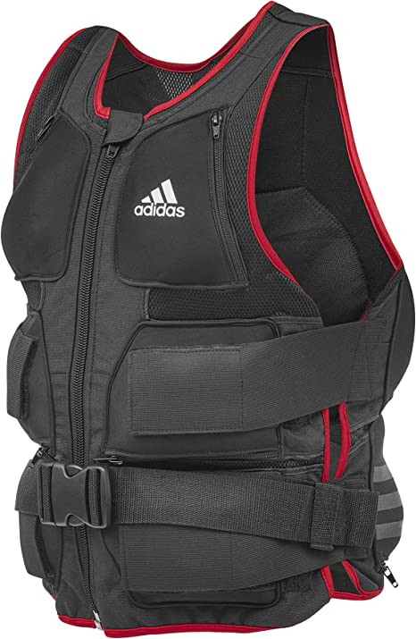 Adidas Gilet lesté – NoirRouge: Amazon.ca: Sports et Plein air