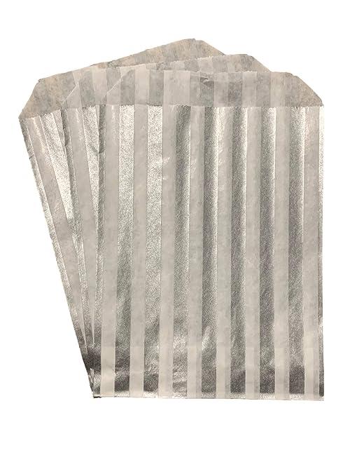 Packitsafe Bolsas de caramelos de color gris, bolsa de papel ...