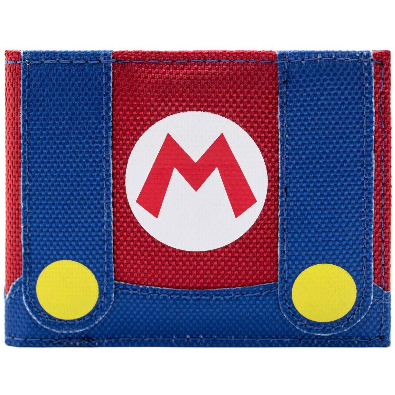 Super Mario Vestito da idraulico Rosso Portafoglio 31418