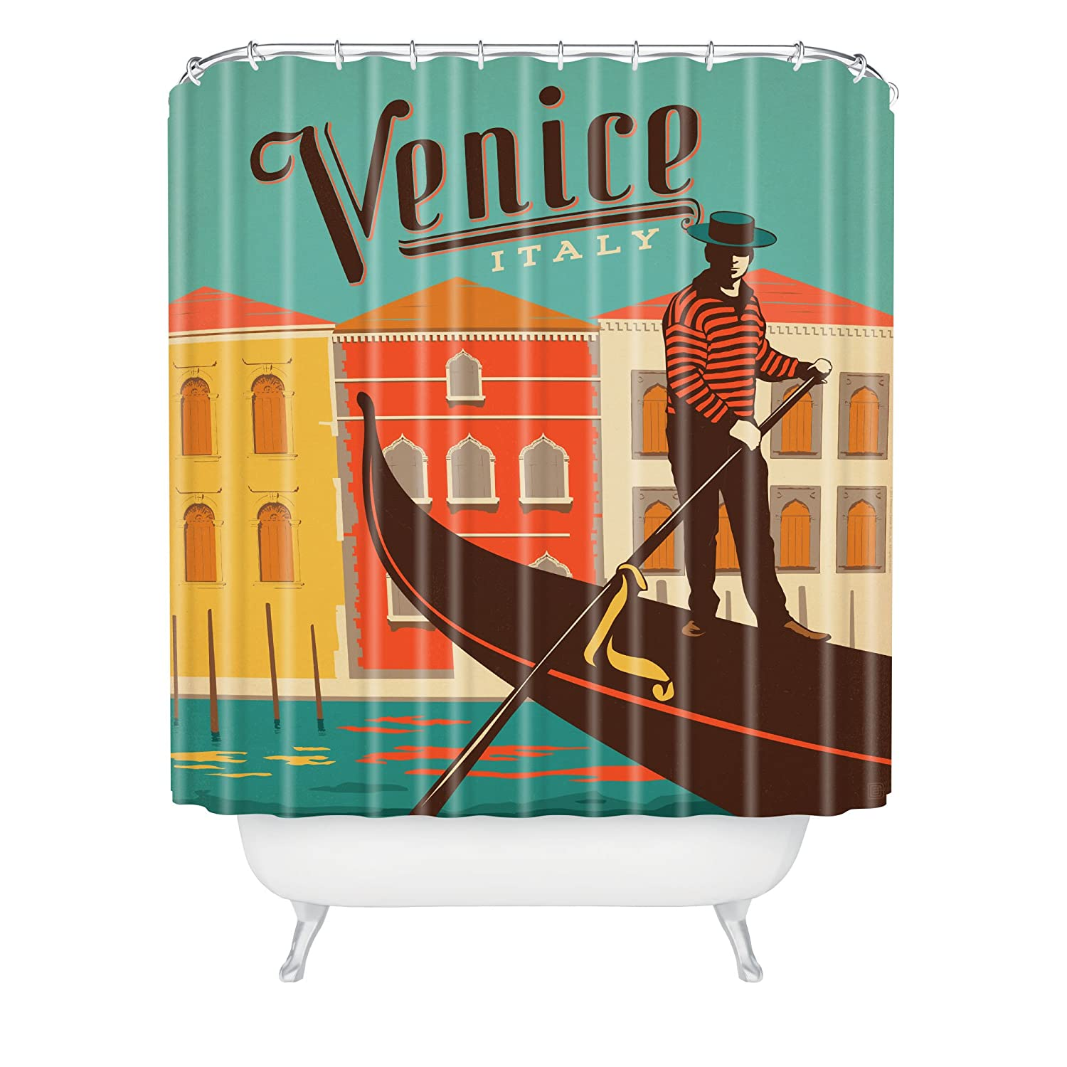 Deny Designs Anderson Design Group Madrid Shower Curtain 69 x 72 69 x 72 14814-shocur