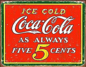 Amazon.com: Carteles de lata de Coca Cola de Desperate ...