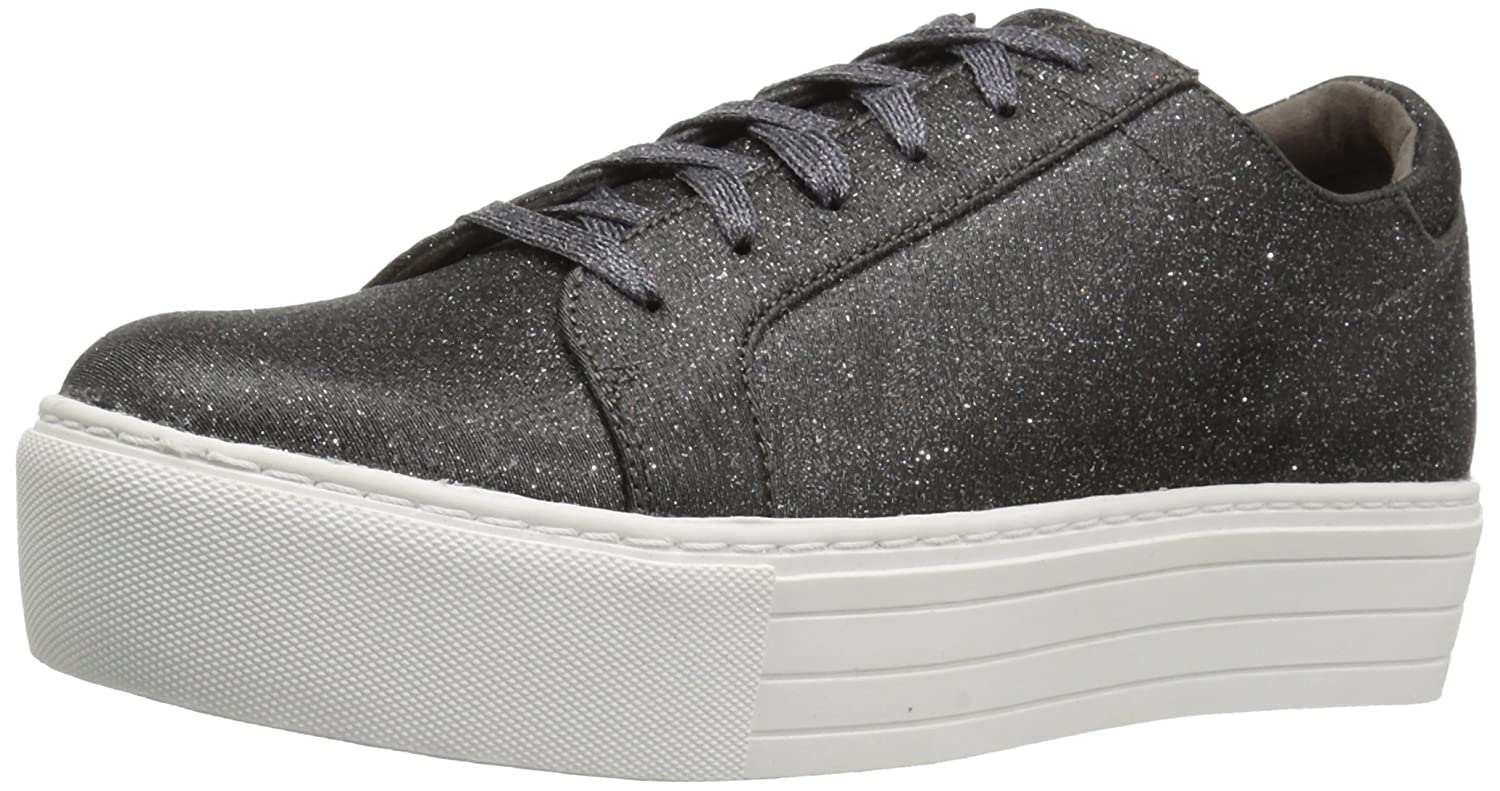 Kenneth Cole REACTION Women's Cheer-y Platform Lace up Sneaker B076FNY4CP 9.5 B(M) US|Pewter