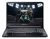 "Acer Predator Intel i5 10th Gen Processor 15.6"" FHD IPS 144 Hz Display Thin and Light Gaming Laptop (8GB Ram/512GB SSD/Win10/GTX 1650Ti Graphics/1.7kg/Abyssal Black), PT315-52"