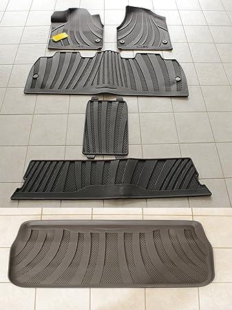 Amazon Com Mopar Chrysler Pacifica Complete Rubber Floor Mat Set