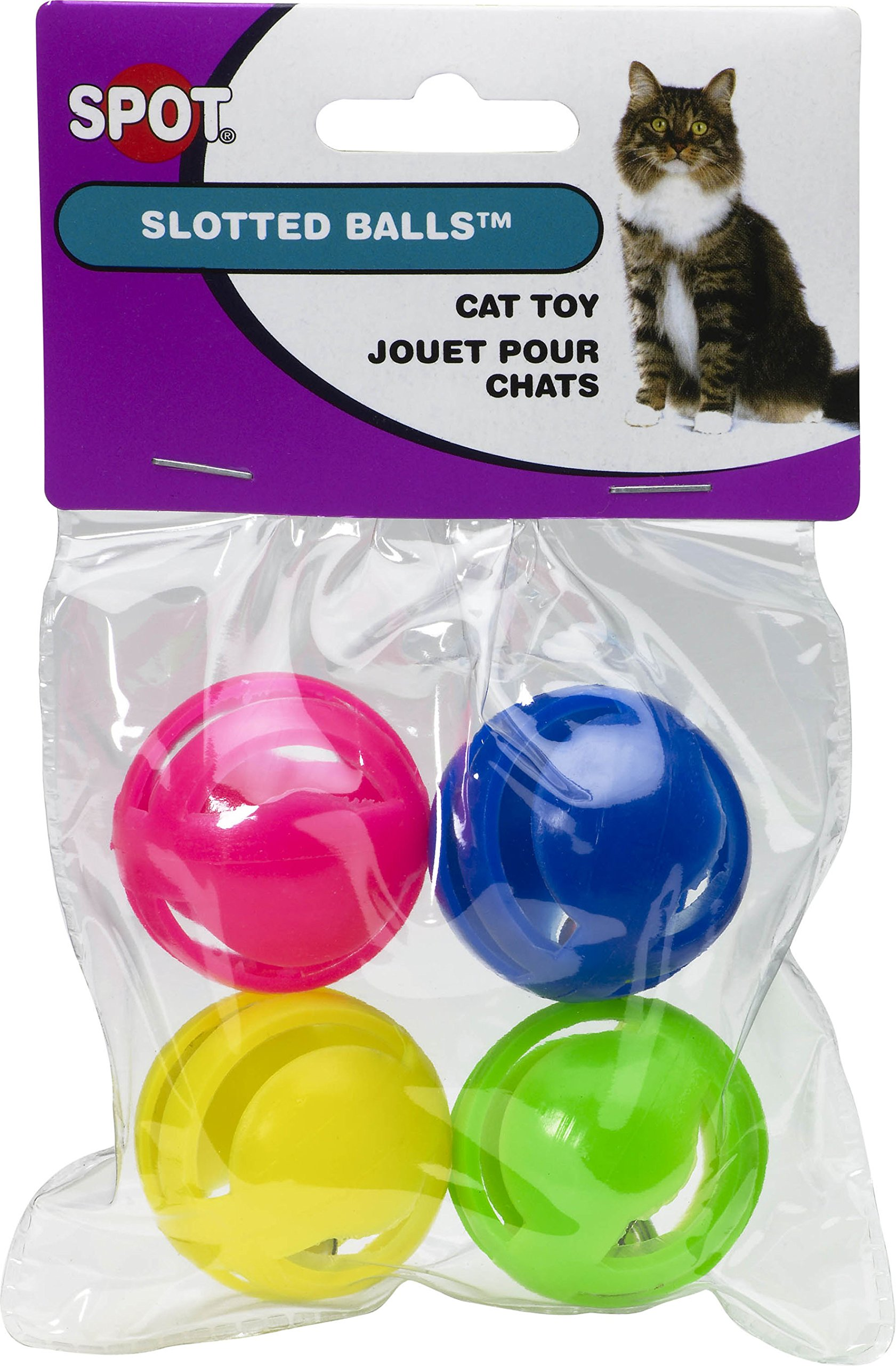 Ethical Products Spot Slotted Balls 4pk 4pack