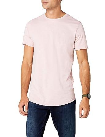 JACK /& JONES Jorbirch tee SS V-Neck Za Camiseta para Hombre