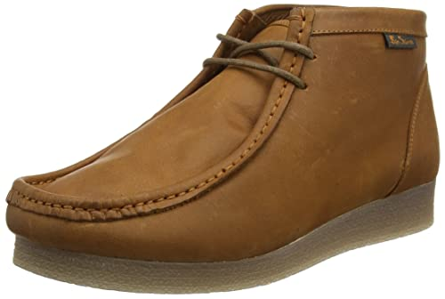 Quartz High - Botas Mocasines Hombre, Color Marrón, Talla 43 Ben Sherman
