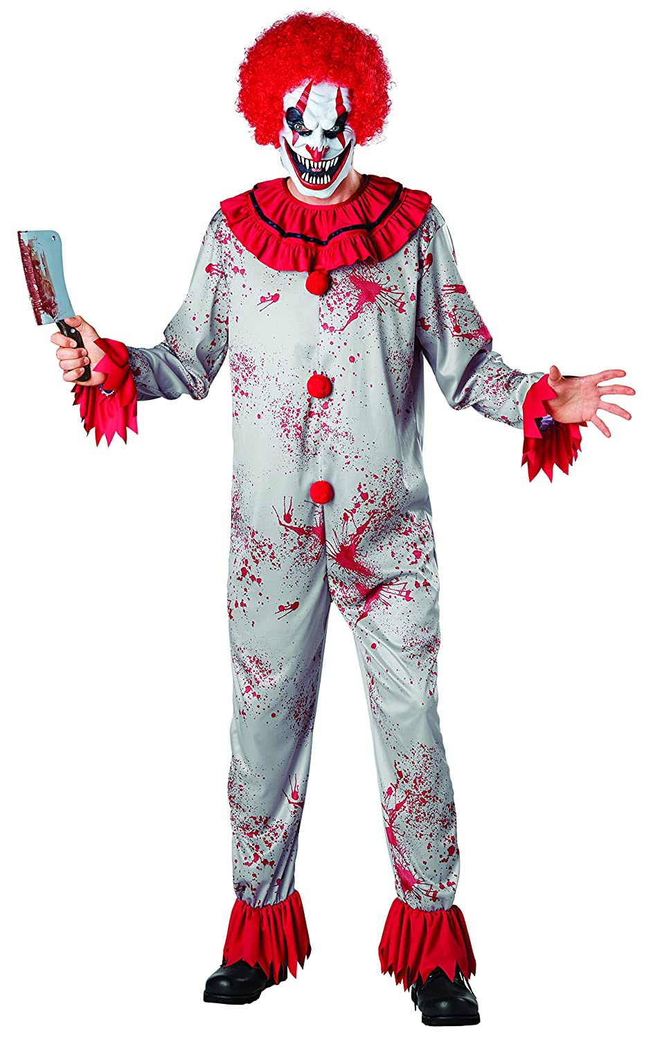 c2ecdfe278e Buy Seasons Scary Circus Clown Costume Online at Low Prices in India ...