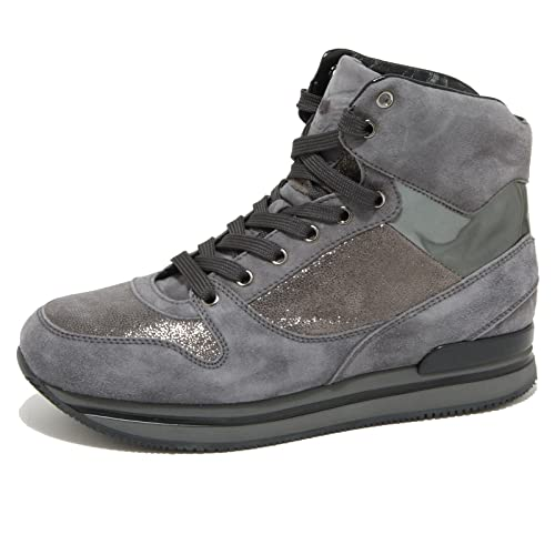 0716O grigio sneaker HOGAN H241 TRONCHET. grigio 0716O scarpe donna shoes woman 7b5123