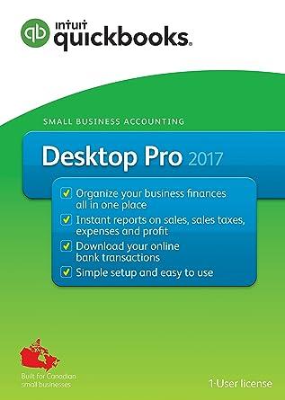 Quickbooks Desktop Pro 2017 English Accounting Software 2017 Amazon