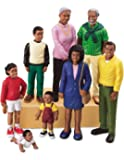 Pretend and Play People - Black Family