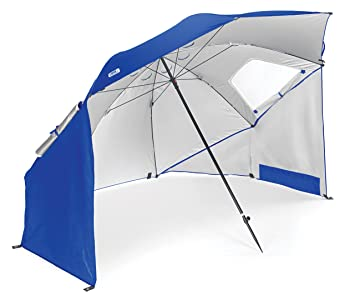 sportbrella portable allweather and sun umbrella 8foot canopy