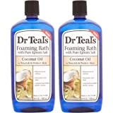 Dr Teal's Coconut Oil Foaming Bath, 34 fl oz (Pack of 2)