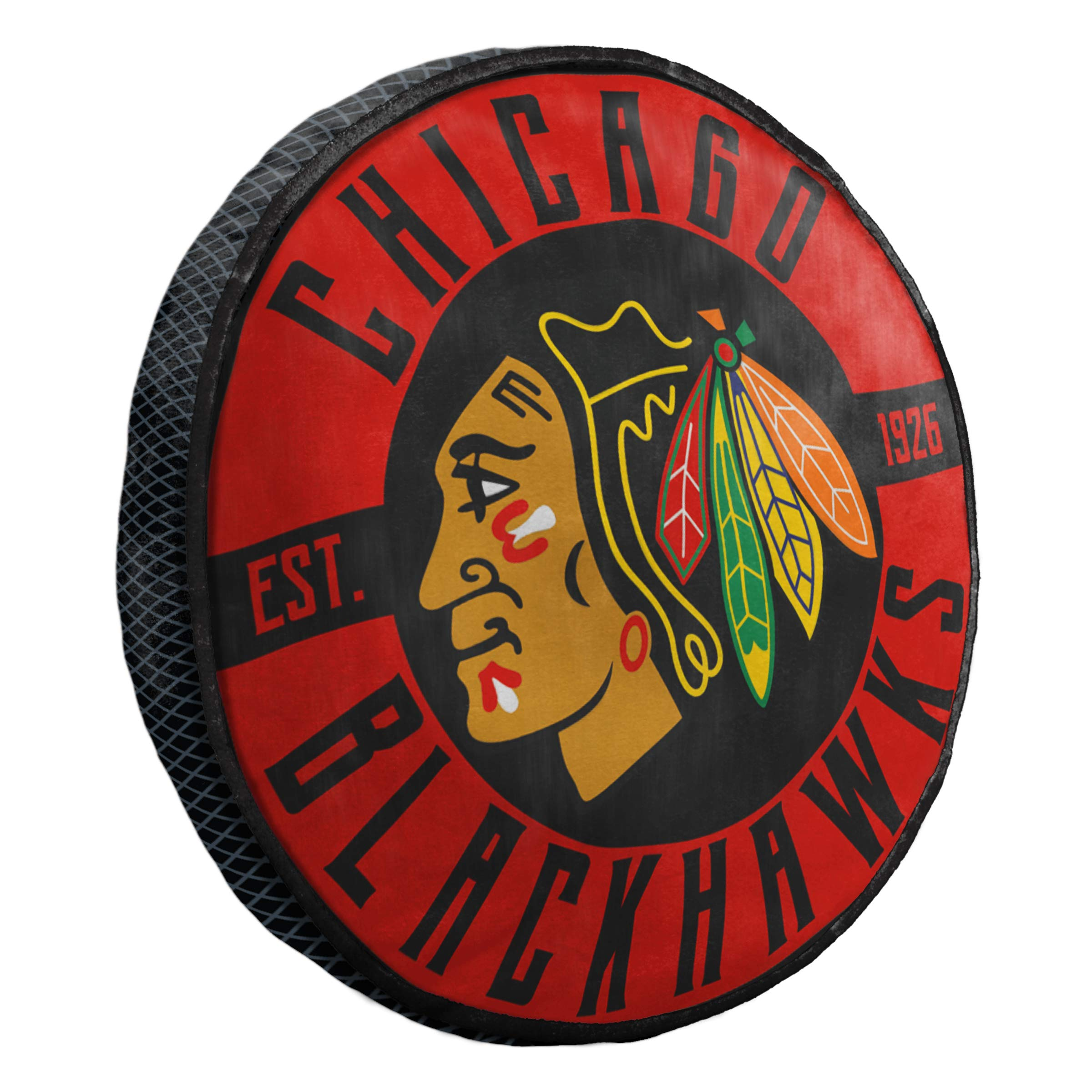 The Northwest Company Chicago Blackhawks 15'' Travel Cloud Pillow by The Northwest Company