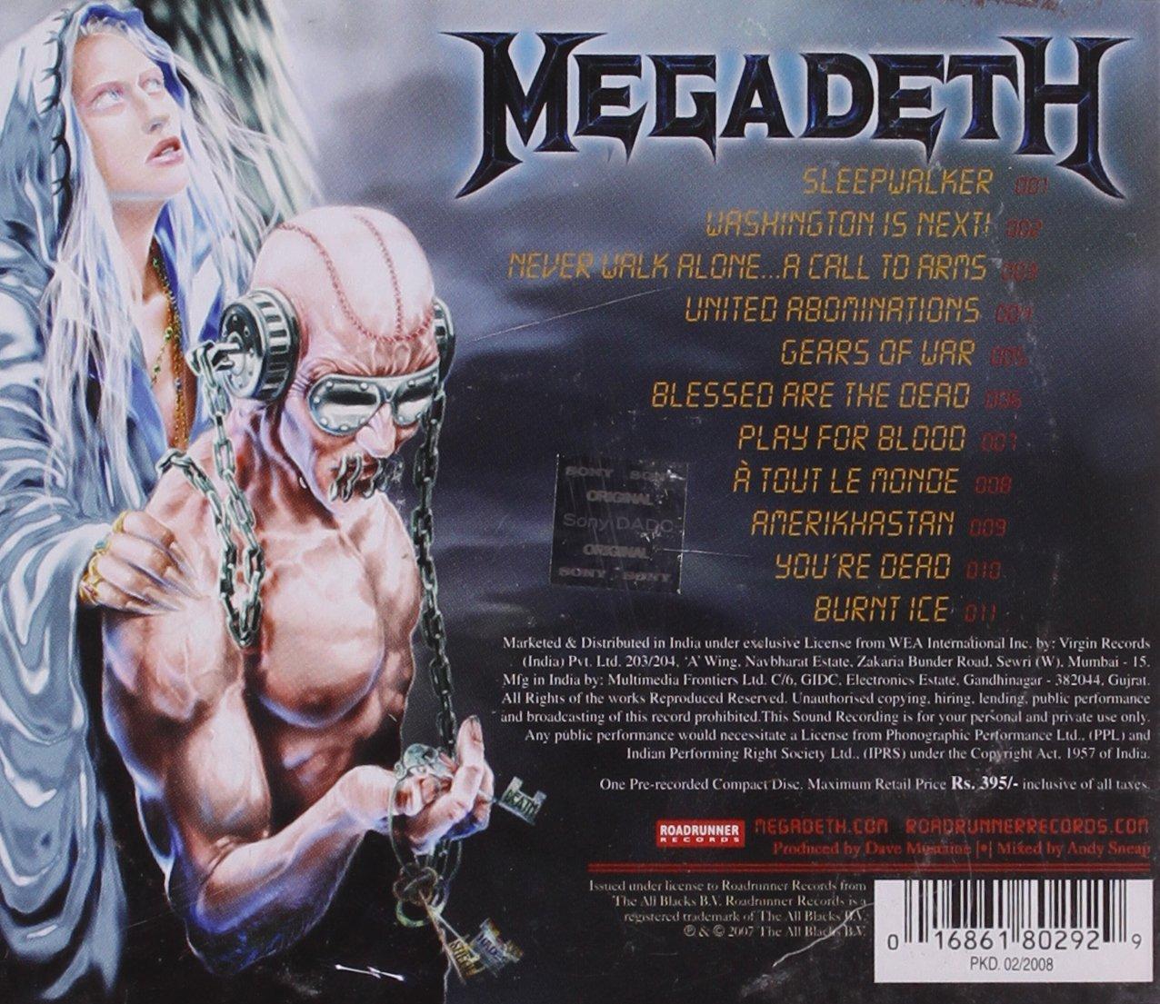 Disco favorito de Megadeth - Página 16 81EifZ0-hdL._SL1276_