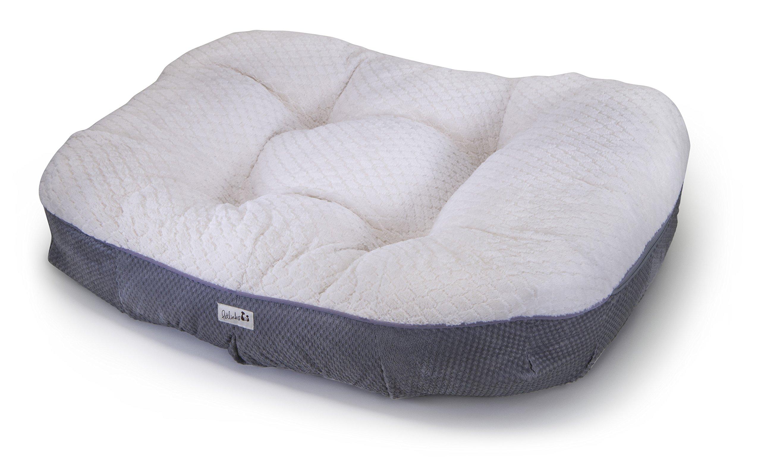 Petlinks Deluxe Dreamer Memory Foam Pet Bed, Large by Petlinks