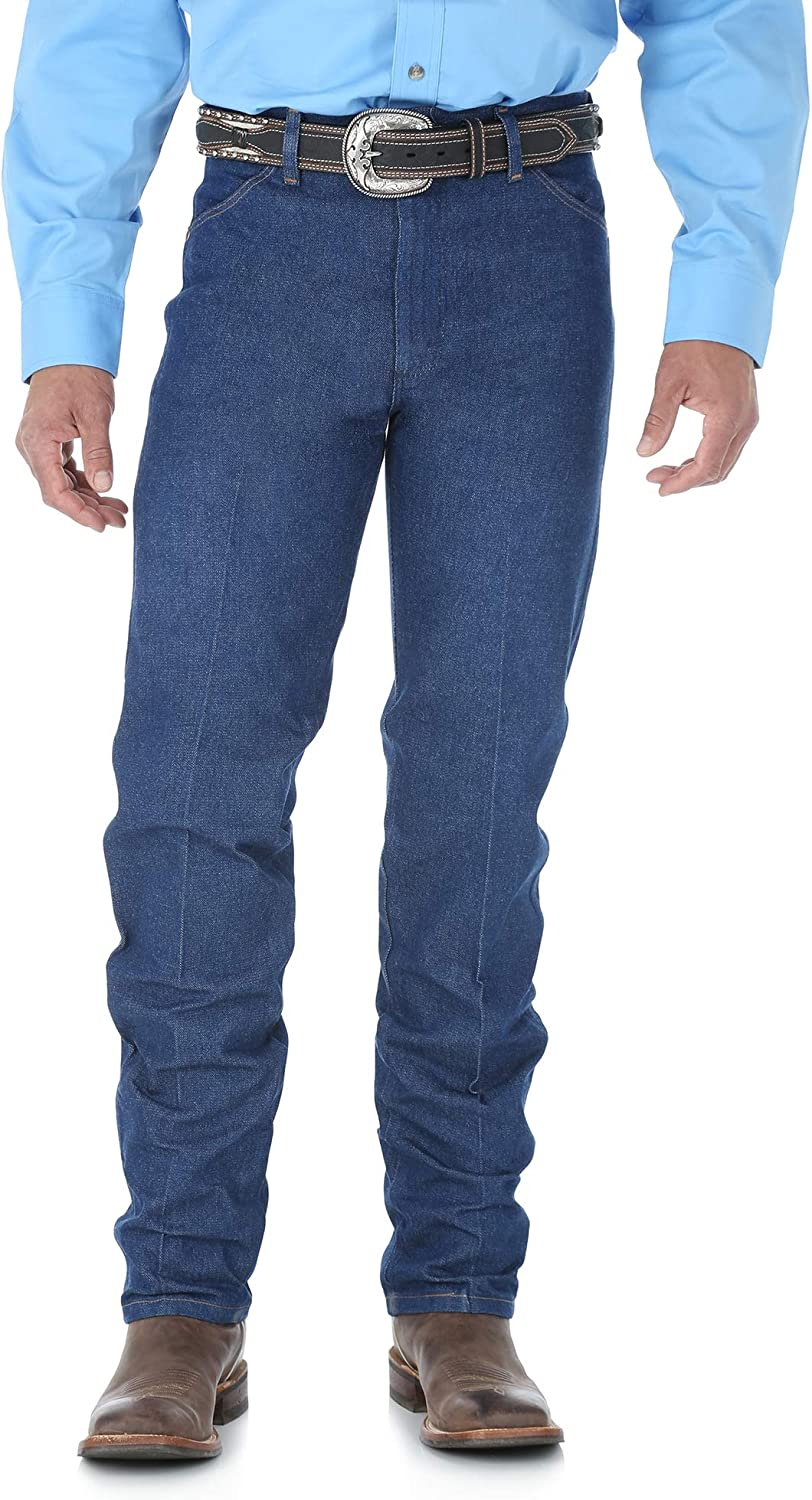 Wrangler Men's 13MWZ Cowboy Cut Original Fit Jean at  Men's Clothing store