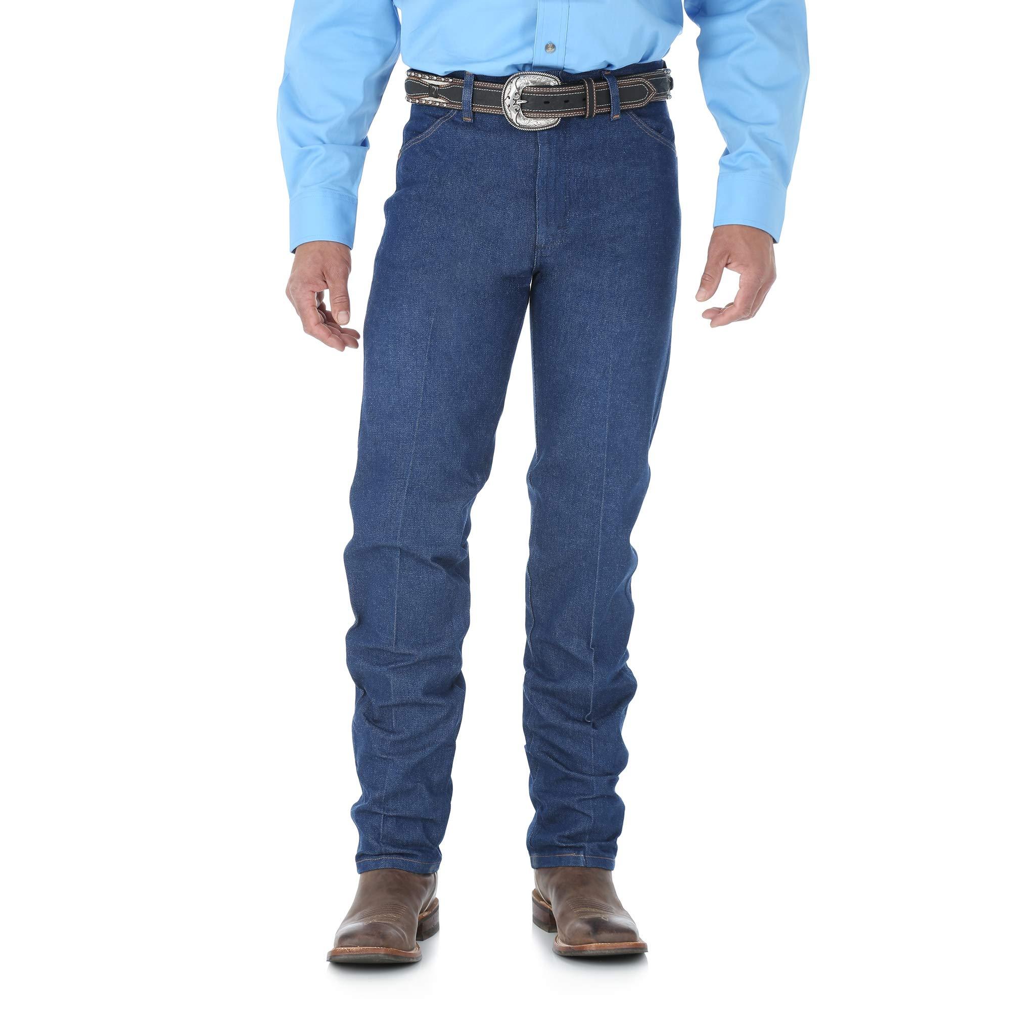 Wrangler Men's Tall Cowboy Cut Jean Original Fit Jean,Indigo,33x38
